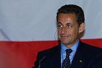 Nicolas Sarkozy visits Laszlo Solyom