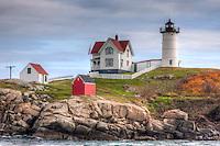 "Cape Neddick ""Nubble Light"", located in York, Maine"