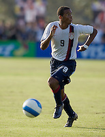 USA's Stefan Jerome (9). 2007 Nike Friendlies, which are taking place from Dec. 6-9 at IMG Academies in Bradenton, Fla.