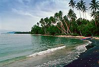 Black Sand Beach, Solomon Islands