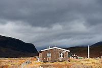 Singi hut, Kungsleden trail, Lapland, Sweden
