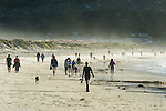 Early morning beach walk, Fish Hoek, Western Cape, South Africa