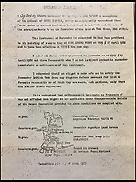 BNPS.co.uk (01202 558833)<br /> Pic: HAldridge/BNPS<br /> <br /> A momentous fax which brought to an end the battle for South Georgia in the Falklands War has been unearthed after 35 years.<br /> <br /> Petty Officer David Cadwallader was working in the notifications department at the HMS Cochrane naval base in Fife, Scotland, on April 25, 1982 when he received a Telex which stated Argentina had 'unconditionally surrendered' the island they had occupied for 22 days.<br /> <br /> The invasion of South Georgia took place on April 3, 1982, when Argentine naval forces seized control after overpowering a small group of Royal Marines at Grytviken.<br /> <br /> The fax has been signed by the commanding officer of the Argentine submarine Santa Fe and the commander of the Argentine land forces, as well as the commander of HMS Antrim and the second in command of the 42 Commando Royal Marines.