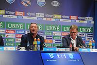 VOETBAL: HEERENVEEN: Abe Lenstra Stadion 29-08-2015, SC Heerenveen - PEC Zwolle, uitslag 1-1, coaches Ron Jans en Dwight Lodeweges, ©foto Martin de Jong