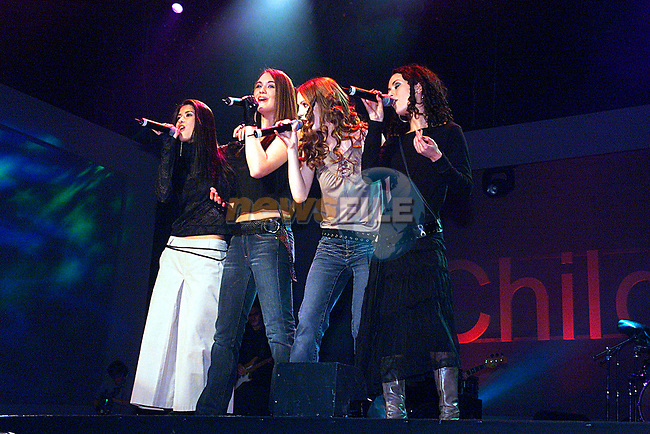 Bellfire at the Childline 2002 Concent...Pic Tony Campbell/Newsfile