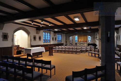 Dillon Hall Chapel..Photo by Matt Cashore/University of Notre Dame