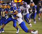 Oxford High's Joey Walden (85) vs. Grenada in Oxford, Miss. on Friday, August 17, 2012. Oxford won 28-22.