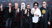 WEST HOLLYWOOD, CA, USA - SEPTEMBER 21: John Varvatos, Gregg Bissonette, Edgar Winter, Ringo Starr, Steve Lukather, Richard Page arrive at the John Varvatos #PeaceRocks Ringo Starr Private Concert held at the John Varvatos Boutique on September 21, 2014 in West Hollywood, California, United States. (Photo by Xavier Collin/Celebrity Monitor)