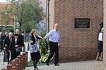 Foto: VidiPhoto<br /> <br /> BARNEVELD - In de Rehoboth kerk van de Ger. Gem. in Barneveld is zaterdag de jaarlijkse toogdag van de Gereformeerde Bijbel Stichting (GBS) gehouden. De GBS richt zich op het behoud van de Bijbel in de Statenvertaling en draagt bij aan het verspreiden van Bijbels in andere talen.