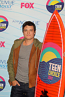 LOS ANGELES - JUL 22:  Josh Hutcherson in the Press Room of the 2012 Teen Choice Awards at Gibson Ampitheatre on July 22, 2012 in Los Angeles, CA