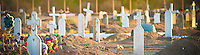 """Many Crosses"" - Salt River Indian Reservation Cemetery - Arizona"