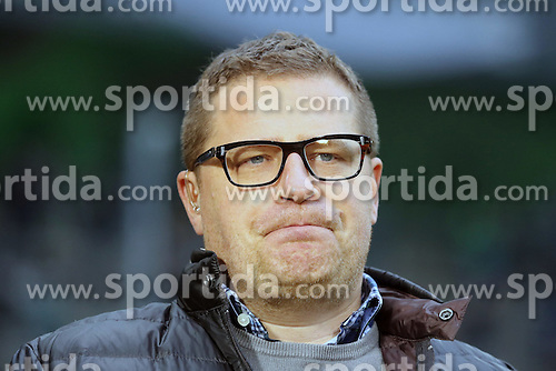06.12.2014, Borussia Park, Moenchengladbach, GER, 1. FBL, Borussia Moenchengladbach vs Hertha BSC, 14. Runde, im Bild Sportlicher Leiter Max Eberl (Borussia Moenchengladbach) // 15054000 during the German Bundesliga 14th round match between Borussia Moenchengladbach and Hertha BSC at the Borussia Park in Moenchengladbach, Germany on 2014/12/06. EXPA Pictures &copy; 2014, PhotoCredit: EXPA/ Eibner-Pressefoto/ Sch&uuml;ler<br /> <br /> *****ATTENTION - OUT of GER*****