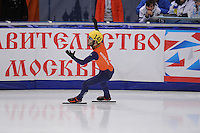 SHORT TRACK: MOSCOW: Speed Skating Centre ìKrylatskoeî, 15-03-2015, ISU World Short Track Speed Skating Championships 2015, World Champion Sjinkie KNEGT (#148 | NED), ©photo Martin de Jong