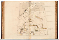 BNPS.co.uk (01202 558833)<br /> Pic:Bloomsbury/BNPS<br /> <br /> ***Please Use Full Byline***<br /> <br /> Little detail for modern Germany...<br /> <br /> One of the world's first printed atlases that contains a bizarre and distorted map of Britain has emerged for sale for 90,000 pounds.<br /> <br /> The unrecognisable shape of the British Isles was an interpretation of the works of Roman mathematician, astrologer and geographer Claudius Ptolemaeus.<br /> <br /> Claudius lived between 90-168 AD and wrote about the world's geography in the Roman Empire.<br /> <br /> It wasn't until 1300 years later after the process of printing developed that Claudius' works were turned into a printed atlas, called Cosmographia.<br /> <br /> One rare copy of the book has now emerged for sale in London.<br /> <br /> On the pages that covers Britain, the outline for the coast of France, Belgium and Holland is comparitvely accurate.<br /> <br /> Yet, the British Isles are bent right out of shape and looking twice as thin as it did in reality.<br /> <br /> The south west of England, famous for its rugged coastline, is a rectangular shape with straight lines, while the south east from Southampton to Kent is pushed upwards at a 45 degree angle.<br /> <br /> The rest of England is much narrower, and the east coast is where Birmingham, Nottingham and Leeds should be.<br /> <br /> Although the Wales coastline is recognisble, Scotland appears to have grown a large appendage that sticks out into the North Sea and spreads across to where Norway is.<br /> <br /> Because Britain is half the size it should be, the North Sea, or Oceanus Germanicus, is twice as wide.