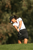 March 26, 2005; Rancho Mirage, CA, USA;  15 year old amateur Michelle Wie hits out of the rough on the 2nd hole during the 3rd round of the LPGA Kraft Nabisco golf tournament held at Mission Hills Country Club.  Wie shot a 1 over par 73 for the day and was tied for 21st at one over par 217.<br />