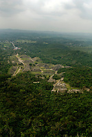 Aerial photos en route to Tajin, Veracruz, Mexico. April 5, 2008