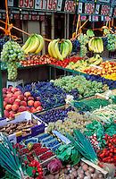 France, Paris, fruit stand on Rue Cler