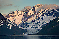 Surprise glacier, Chugach mountains, Chugach National forest, Prince William Sound, southcentral, Alaska.
