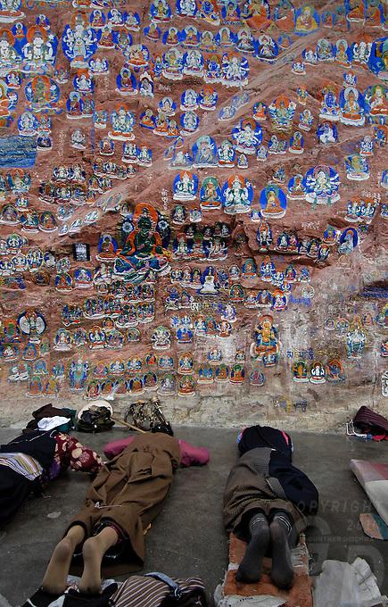Yaowang Mountain and the Thousand-Buddha Cliff