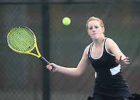 Girls Tennis vs Carmel 4-18-11
