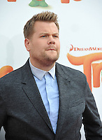 LOS ANGELES, CA. October 23, 2016: Actor/TV chat show host James Corden at the Los Angeles premiere of &quot;Trolls&quot; at the Regency Village Theatre, Westwood.<br /> Picture: Paul Smith/Featureflash/SilverHub 0208 004 5359/ 07711 972644 Editors@silverhubmedia.com