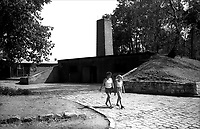 Auschwitz, former Nazi death camp, in Oswiecim, Poland's Nazi-era concentration camp..The crematory oven.