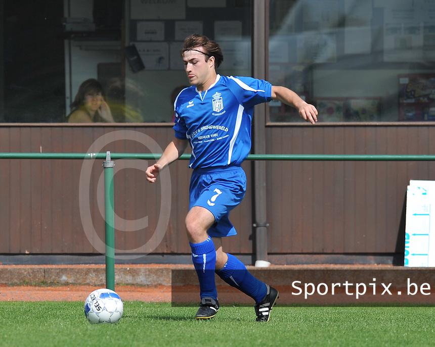 FC Lendelede Sport : JEns Vanelslander.foto VDB / BART VANDENBROUCKE