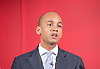 Labour Party Education manifesto launch at Microsoft, London, Great Britain <br /> 9th April 2015 <br /> <br />  General Election Campaign 2015 <br /> <br /> <br /> Chuka Umunna<br /> Shadow Business Secretary <br /> <br /> <br /> <br /> <br /> Photograph by Elliott Franks <br /> Image licensed to Elliott Franks Photography Services