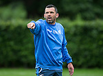 St Johnstone FC Training...<br /> Assistant Manager Callum Davidson<br /> Picture by Graeme Hart.<br /> Copyright Perthshire Picture Agency<br /> Tel: 01738 623350  Mobile: 07990 594431