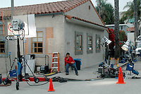 "A crew films ""Ball Dont Lie"" inside of the Capo Restaurant on Ocean Avenue on Monday, June 4, 2007.The film will be feature length."