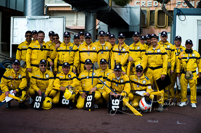 Grand Prix de Monte Carlo Historic 2012, Pit crew and Marshalls