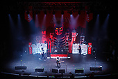 SUM 41 - (Deryck Whibley, Tom Thacker, David Baksh, Jason McCaslin, Frank Zummo) - performing live at the Academy Brixton in London UK - 02 Mar 2017.  Photo credit: Paul Harries/IconicPix