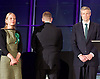 Mayor of London and London Assembly results announcement at City Hall, London, Great Britain <br /> 6th May 2016 <br /> <br /> <br /> Sian Berry - Green Party <br /> <br /> Paul Golding - Britain First <br /> <br /> Zac Goldsmith - Conservative<br /> <br /> <br /> <br /> The winner was Sadiq Khan who is appointed the new mayor of London <br /> <br /> <br /> <br /> Photograph by Elliott Franks <br /> Image licensed to Elliott Franks Photography Services