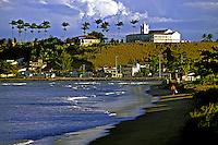 Cidade de Nova Almeida. Espírito Santo. 1988. Foto Juca Martins.