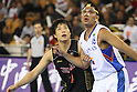 Kenta Hirose (JPN), SEPTEMBER 20, 2011 - Basketball : 26th FIBA Asia Championship Second round Group F match between Philippines 83-76 Japan at Wuhan Sports Center in Wuhan, China. (Photo by Yoshio Kato/AFLO)