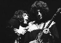 Queen performing in 1974. Credit: Ian Dickson/MediaPunch