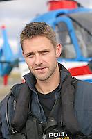 Norwegian Police Helicopter pilot Stian Ødegaard.