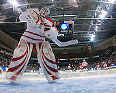 Cody Reichard (Miami - 30) - The University of New Hampshire Wildcats defeated the Miami University RedHawks 3-1 (EN) in their NCAA Northeast Regional Semi-Final on Saturday, March 26, 2011, at Verizon Wireless Arena in Manchester, New Hampshire.