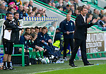 Hibs v St Johnstone.....30.04.11.Derek McInnes encourages his players.Picture by Graeme Hart..Copyright Perthshire Picture Agency.Tel: 01738 623350  Mobile: 07990 594431