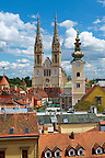 The Neo Gothic Cathedral of the Assumption of the Blessed Virgin Mary, Zagreb, Croatia