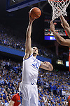 UK's Eloy Vargus goes for a basket against Georgia at Rupp Arena on Friday, March 2, 2012. Photo by Scott Hannigan | Staff