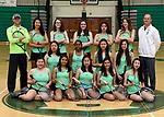 3-30-17, Huron High School girl's varsity tennis team