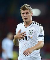 FUSSBALL  EUROPAMEISTERSCHAFT 2012   VORRUNDE Niederlande - Deutschland       13.06.2012 Toni Kroos (Deutschland)