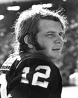 Oakland Raider quarterback Ken &quot;The Snake&quot; Stabler<br />