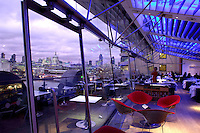 OXO Tower Bar & Brasserie, Oxo Tower Wharf, Southwark, London, Great Britain, UK