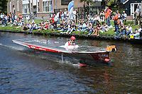 ALGEMEEN: SNEEK: 02-07-2014, DONG Energy Solar Challenge, CLAFIS Private Energy Solar Boat Team (#T63), ©foto Martin de Jong