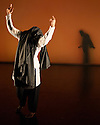 "London, UK. 24.02.2017. Salah el Brogy Company presents ""Letting Go"", choreographed, and danced, by Salah el Brogy, as part of the Resolution! festival, 2017, at The Place. Photograph © Jane Hobson."