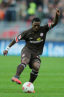 Football: Germany, 2. Bundesliga.FC St. Pauli .Joseph Claude Gyau.?Ǭ© pixathlon