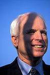 Senator John McCain, campaign stop on his first run for the Presidency, Greenville, South Carolina, February 2000.