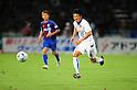Atsushi Yanagisawa (Vegalta), SEPTEMBER 11, 2011 - Football / Soccer : 2011 J.League Division 1 match between between Ventforet Kofu 1-2 Vegalta Sendai at Yamanashi Chuo Bank Stadium in Kofu, Japan. (Photo by AFLO)